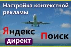 Качественная настройка контекстной рекламы Яндекс.Директ 20 - kwork.ru