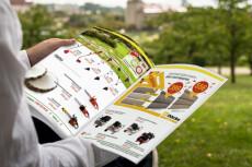 Креативный дизайн и профессиональная верстка журнала, каталога 28 - kwork.ru
