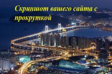 Сделаю скриншот Вашего сайта (длинной страницы) 18 - kwork.ru