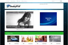 Автонаполняемый финансовый новостной сайт о криптовалюте 5 - kwork.ru