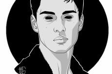 нарисую портрет в интересном стиле 3 - kwork.ru