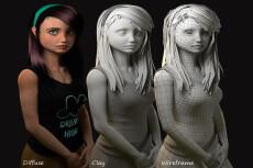 3D графика в стиле Low Poly 4 - kwork.ru