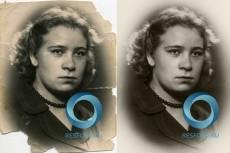 Сделаю цветной старую фотографию 3 - kwork.ru