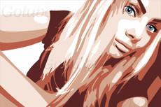 Отрисовка портретов в стиле поп-арт 16 - kwork.ru