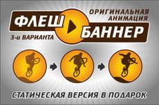 Флэш Анимация 14 - kwork.ru