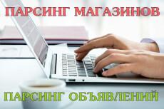 Парсинг сайтов, интернет-магазинов, доски объявлений 9 - kwork.ru