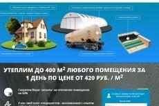 Сделаю landing page под ключ 26 - kwork.ru