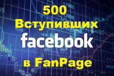 2000 лайков на пост или фото в Фейсбук - живыми людьми + Бонус 15 - kwork.ru