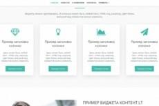 Вышлю шаблоны landing page и + большой комплект доп. материалов 12 - kwork.ru