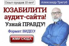 Анализ сайта конкурента в Вашей теме 4 - kwork.ru