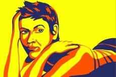 Нарисую портрет в стиле Поп-Арт 20 - kwork.ru