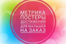 Разработаю макет постера на День Рождения, 8 марта, 23 февраля и т.д 9 - kwork.ru