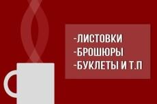 Сделаю дизайн листовки, буклета 42 - kwork.ru