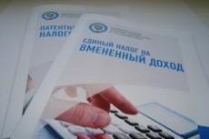 Заявление на патент ИП 9 - kwork.ru
