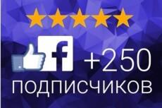 Добавлю 3000 подписчиков на паблик FanPage в Facebook 17 - kwork.ru