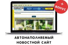 Автоматически наполняемый сайт. Новости, советы и статьи. Есть демо 9 - kwork.ru