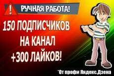 Привлеку 100 подписчиков на Яндекс. Дзен 14 - kwork.ru