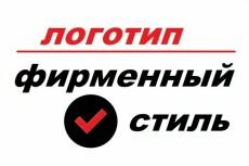 Создание фирменного логотипа 12 - kwork.ru