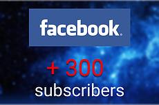 Подписчики в паблик Facebook с фильтрами. Не группа. Гарантия 9 - kwork.ru