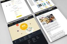 Дизайн шапки сайта в PSD 23 - kwork.ru