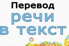 Сделаю из аудио/видео текст (русский язык) 4 - kwork.ru