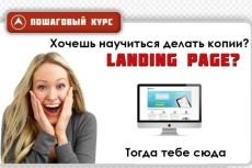 скопирую любой landing 3 - kwork.ru