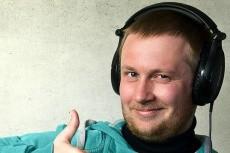 Озвучу видеоролик 8 - kwork.ru