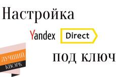 Рекламная кампания РСЯ Яндекс Директ на 100 ключей 10 - kwork.ru