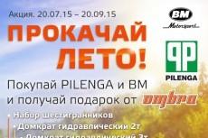 Рекламная афиша 17 - kwork.ru