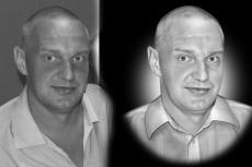 Ретушь портрета на габбро для гравировального станка 16 - kwork.ru