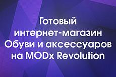 Продам интернет-магазин любых товаров на modx с фильтром, поиском 4 - kwork.ru