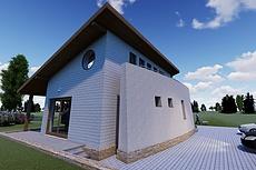 Экстерьеры. 3д модели домов 31 - kwork.ru