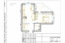 План расстановки мебели 7 - kwork.ru