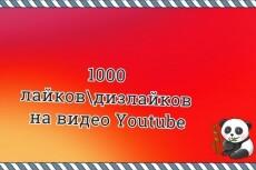 500 лайков на видео в YouTube 21 - kwork.ru