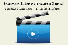 Монтаж видео с обработкой звука 8 - kwork.ru
