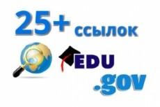 1000 WIKI ссылок + 61 обратных ссылок 1PR7 + 5 PR6 + 15 PR5 + 40 PR4 42 - kwork.ru