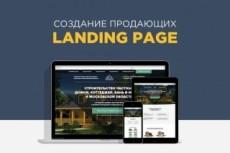 Создам профессиональный Landing Page 33 - kwork.ru