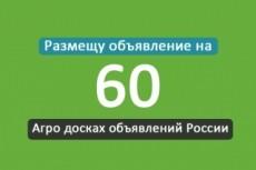 Вручную размещу ваше объявление на 65 досках объявлений 30 - kwork.ru