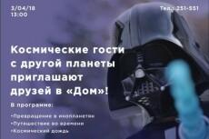 Создам афишу - постер, 2 варианта 224 - kwork.ru