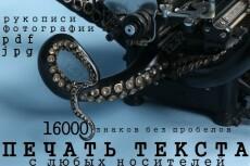 Печать и редактирование текстов 20 - kwork.ru