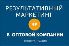 Профессиональная помощь по маркетингу и увеличению продаж 5 - kwork.ru