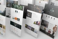 Верстка HTML+CSS по дизайн макету PSD 22 - kwork.ru