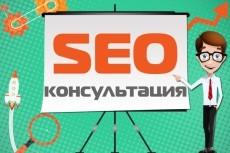 Seo аудит и консультации 20 - kwork.ru