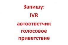 Услуги дикторов. Озвучим:  рекламный ролик, автоответчик, IVR 2 - kwork.ru