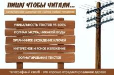 Продвигающие мета-теги (title, description, h1) для страниц 4 - kwork.ru