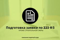 Проконсультирую или помогу с участием в закупках по 223 и 44 ФЗ 14 - kwork.ru
