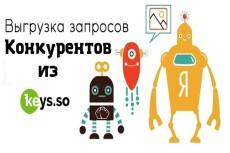 Все важные данные 30-ти конкурентов из Keys.so + бонус 11 - kwork.ru