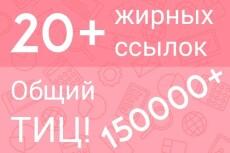 25 жирных трастовых ссылок с огромным ТИЦ 7 - kwork.ru