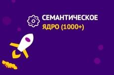 Подборка ключевых слов + мета-теги + ТЗ для копирайтера 18 - kwork.ru