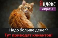 Создание кампании Яндекс. Директ - РСЯ 9 - kwork.ru